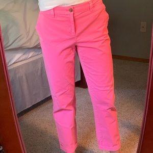 "Gap hot pink ""Khaki"" Pants"